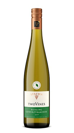 2019 Two Vines Riesling Gewurztraminer
